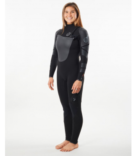 RIP CURL 3/2 FBOMB HEAT SEEKER 2021 WOMAN ZIP FREE