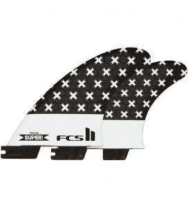 FCS II SUPER BRAND TRI-QUAD FINS