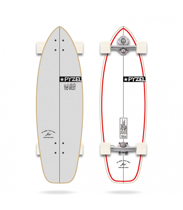 """YOW PYZEL GHOST 33.5"""" SURFSKATE"""