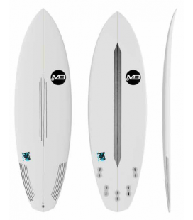 MB Scarb Dogs surfboard