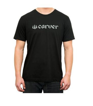 Carver TS camiseta Logo Negro