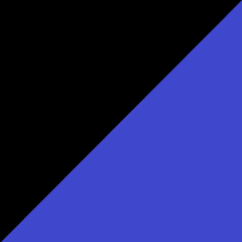 Negro / Azul