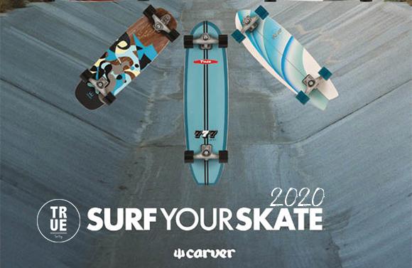 Carver surfskate 2020